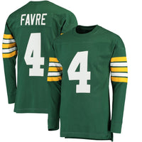 Brett Favre Packers Long Sleeve Jersey