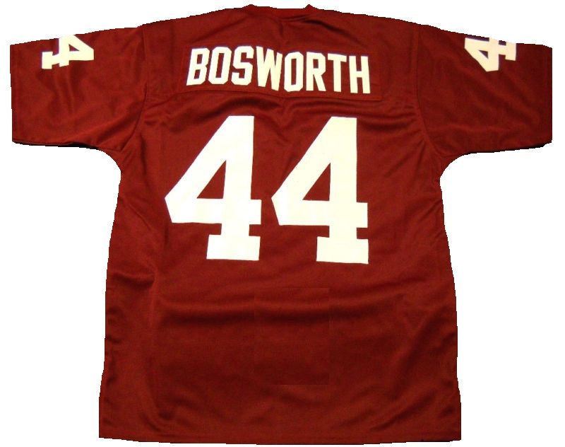 size 40 5a857 03cb2 Brian Bosworth Oklahoma Sooners College Football Throwback Jersey