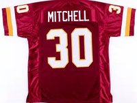 Brian Mitchell Washington Redskins Throwback Football Jersey
