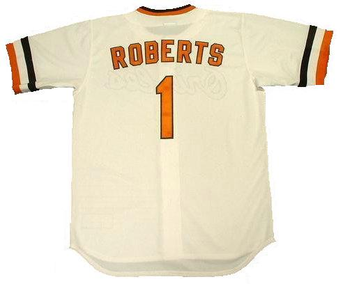 Brian Roberts Baltimore Orioles Throwback Jersey
