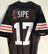 Brian Sipe Cleveland Browns Throwback Football Jersey