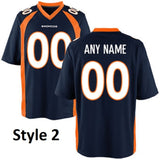 Denver Broncos Customizable Jersey