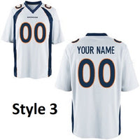 Denver Broncos Customizable Football Jersey