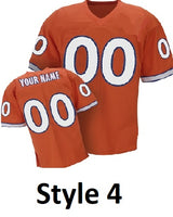 Denver Broncos Customizable Throwback Style Jersey