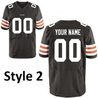 Cleveland Browns Customizable Pro Style Football Jersey