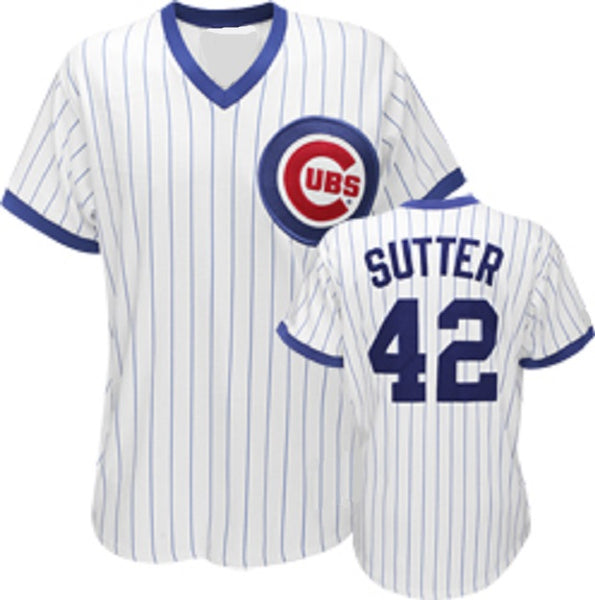 Bruce Sutter Chicago Cubs Throwback Jersey