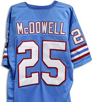 Bubba McDowell Houston Oilers Throwback Football Jersey