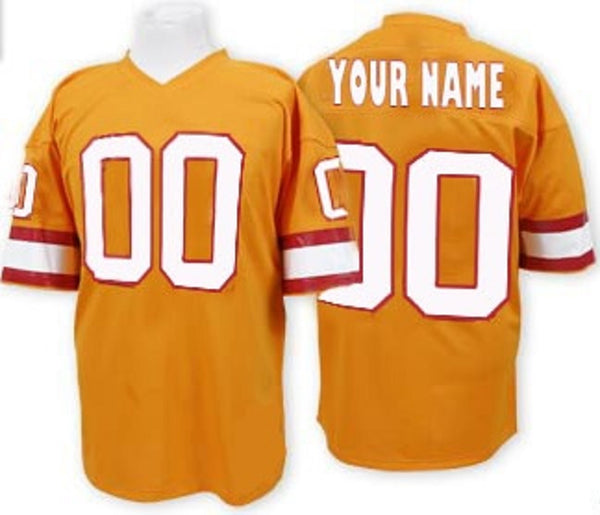 Tampa Bay Buccaneers Style Customizable Football Jersey