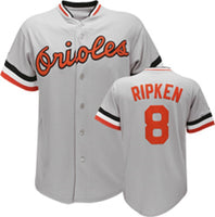 Cal Ripken Jr. Baltimore Orioles Throwback Road Jersey