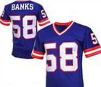 Carl Banks New York Giants Throwback Football Jersey