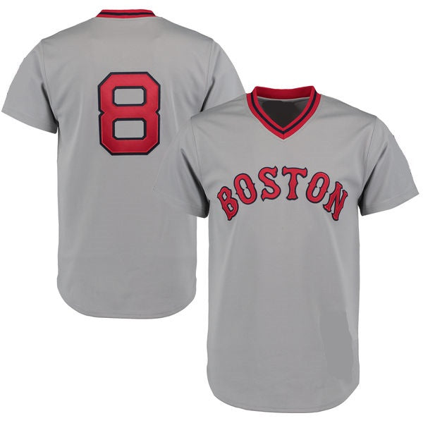 Carl Yastrzemski Boston Red Sox Throwback Baseball Jersey