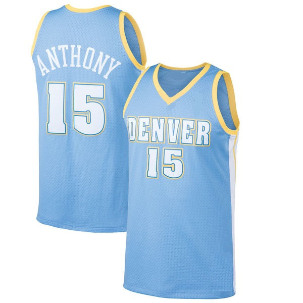 Carmelo Anthony Denver Nuggets 2003-04 Throwback Basketball Jersey
