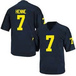 Chad Henne Michigan Wolverines College Football Throwback Jersey