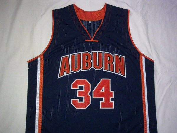 reputable site a6e5c 0d7a3 Charles Barkley Auburn Tigers College Throwback Basketball Jersey.