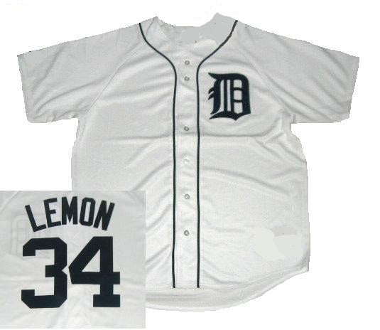 Chet Lemon Detroit Tigers Throwback Home Jersey