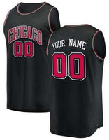 Customizable Chicago Bulls Basketball Jersey