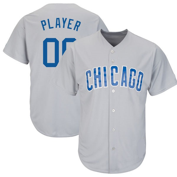 Chicago Cubs Customizable Baseball Jersey