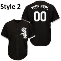 Chicago White Sox Customizable Black Baseball Jersey