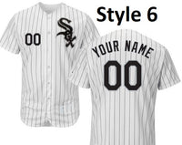 Chicago White Sox Customizable Pro Style Baseball Jersey