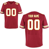 Kansas City Chiefs Style Customizable Football Jersey