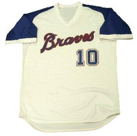 Chipper Jones Atlanta Braves Jersey