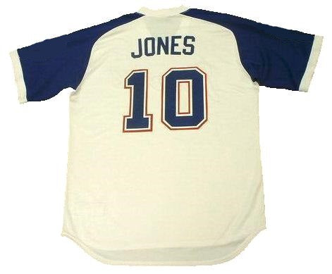 Chipper Jones Atlanta Braves Throwback Jersey