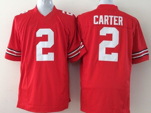 Chris Carter Ohio State Buckeyes College Football Throwback Jersey
