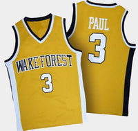 Chris Paul Wake Forest Demon Deacons College Basketball Throwback Jersey