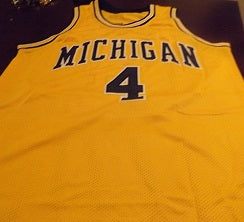 sneakers for cheap ec6b3 69360 Chris Webber Michigan Wolverines Throwback Jersey – Best ...