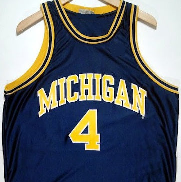 competitive price 547e4 ab6d5 Chris Webber Michigan Wolverines College Basketball Throwback Jersey