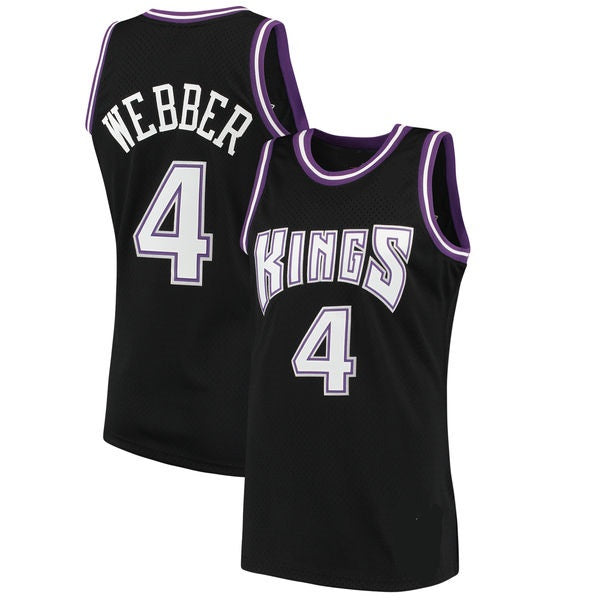 Chris Webber Sacramento Kings 2000-01 Throwback Jersey