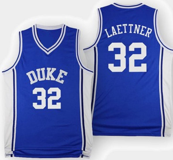 Christian Laettner Duke Blue Devils Basketball Jersey