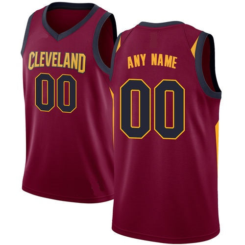 Cleveland Cavaliers Customizable Basketball Jersey