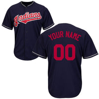 Cleveland Indians Customizable Baseball Jersey
