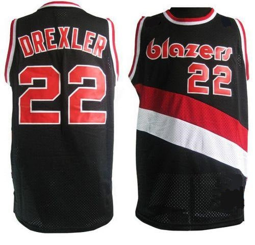 Clyde Drexler Trailblazers Throwback Basketball Jersey