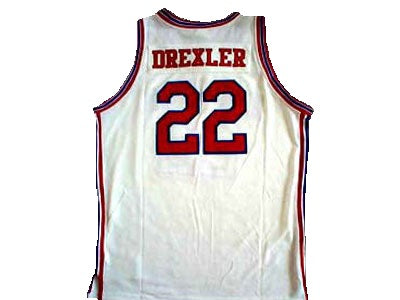 Clyde Drexler University of Houston Basketball Jersey