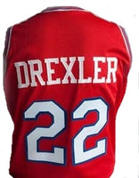 Clyde Drexler University of Houston College Jersey