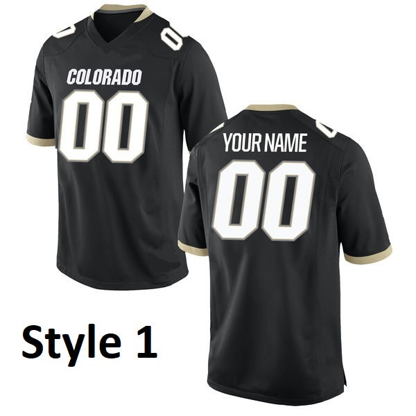 Colorado Buffaloes Customizable College Jersey