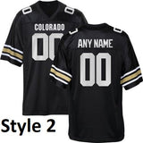Colorado Buffaloes Customizable College Football Jersey