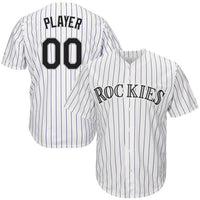 Colorado Rockies Customizable Jersey