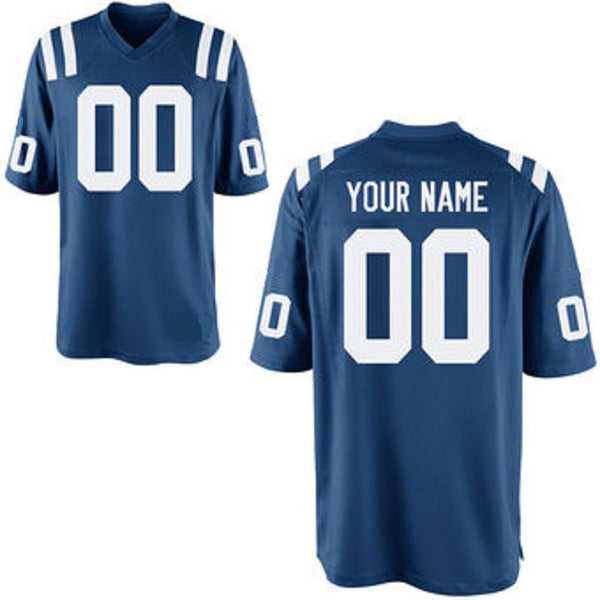 Customizable Indianapolis / Baltimore Colts Pro Style Football Jersey