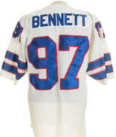 Cornelius Bennett Buffalo Bills Throwback Football Jersey