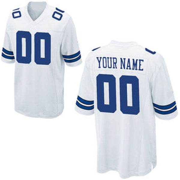 Customizable Dallas Cowboys Pro Style Football Jersey