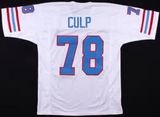 Curley Culp Houston Oilers Throwback Football Jersey