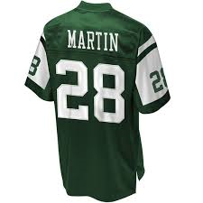 Curtis Martin New York Jets Throwback Football Jersey