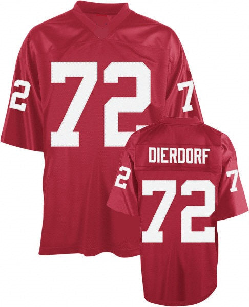 Dan Dierdorf St. Louis Cardinals Throwback Football Jersey