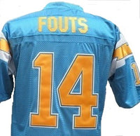 Dan Fouts San Diego Chargers Throwback Football Jersey