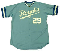 Dan Quisenberry Kansas City Royals Jersey