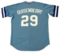 Dan Quisenberry Kansas City Royals Throwback Jersey
