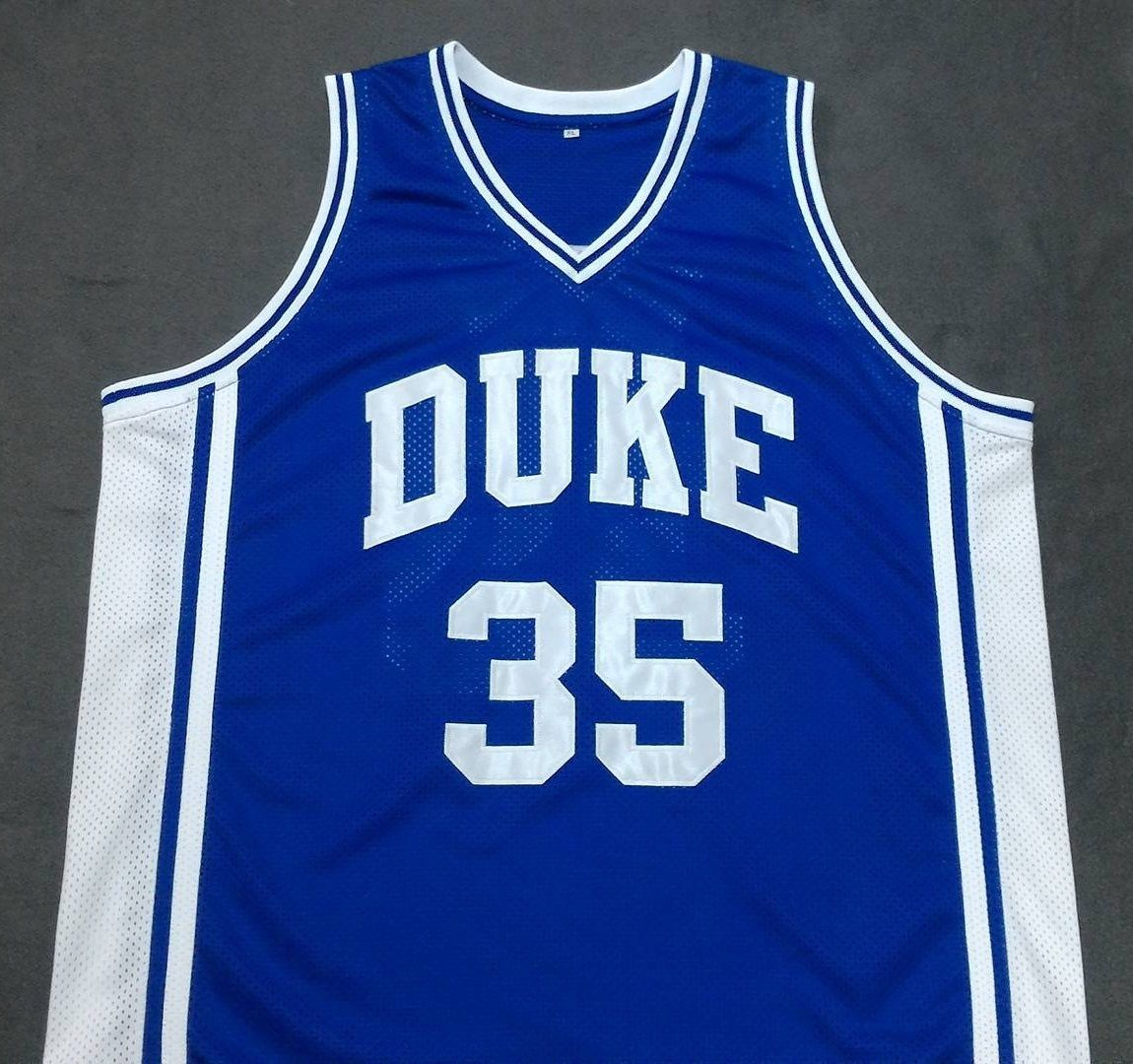super popular f6009 a9637 Danny Ferry Duke Blue Devils College Basketball Throwback Jersey